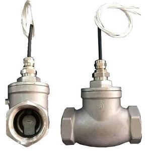 Liquid flow switch sensor NPT 3/4 inch female/female Stainless Steel FSS-N2FF-SS