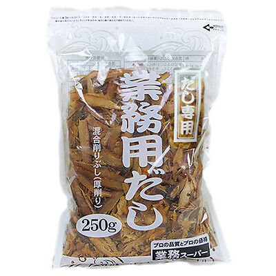 New Thick Sliced Dried Bonito Mackerel Sardine Flakes For Fish Soup Stock 250g