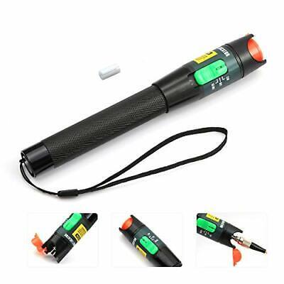 Pen Aluminum Alloy Visual Fault Locator 30km Fiber Optic Cable Tester Meter U...