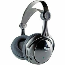 RCA Wireless Rechargeable Headphones with Cable-DISCONTINUED-RCA-WHP141B
