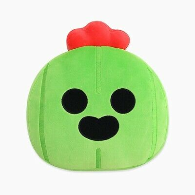 Brawl Stars Spike Face Soft Cushion Pillow Game Character