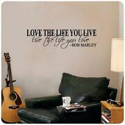 Wall Stickers Quotes Bob Marley