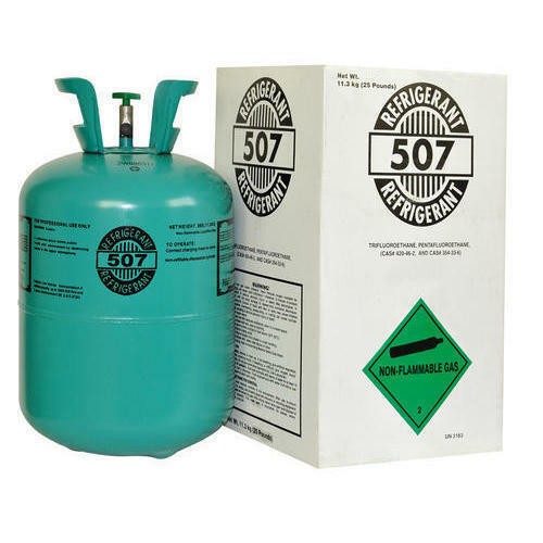 507 refrigerant R507 cylinder 25lb HFC  R22 Alternative