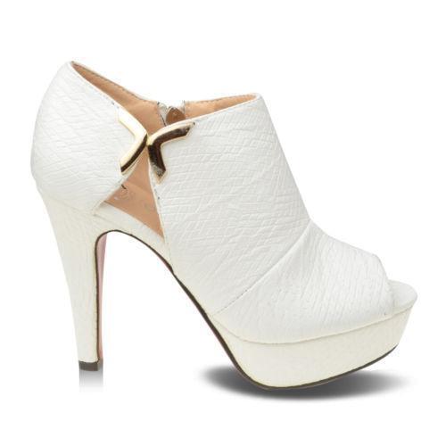 D0Y020S4 Women Ladies White Low Rope Wedge Heel Peep Toe Flatform Sandal Shoes UK 8 EU 41 Handmade