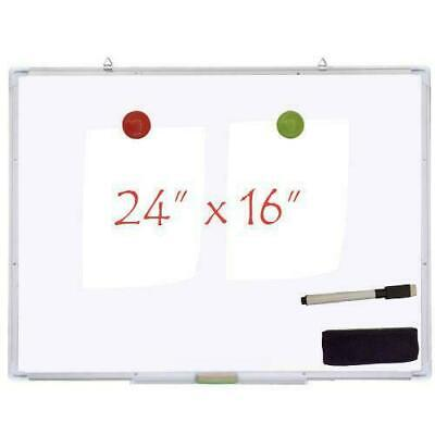 24x16 Magnetic Writing Whiteboard Dry Erase Board Weraser Office Single Us