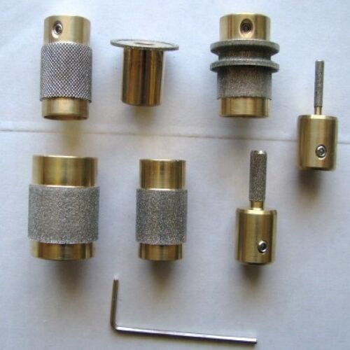 Stained Glass Diamond Grinder Bit Head 7 Sizes All U Need...