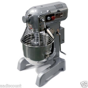 NEW UNIWORLD PLANETARY 20 QT QUART MIXER UPM-M20E