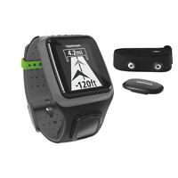 TOMTOM HEARTRATE MONITOR AND GPS WATCH