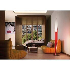 DESIGN PREMIUM FLOOR LAMPS KUNDALINI by Shakti -red