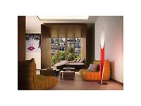 DESIGN PREMIUM FLOOR LAMPS KUNDALINI by Shakti -red