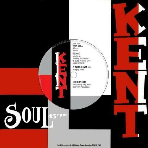 """GREG PERRY It Takes Heart / JOCELYN BROWN If I ..NEW NORTHERN SOUL 45 (KENT) 7"""""""