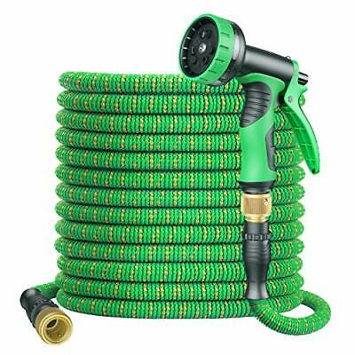 BOIROS Garden Hose Expandable 100FT Flexible Leakproof Hose Pipe with Durable