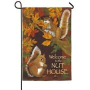 Small Autumn Garden Flags