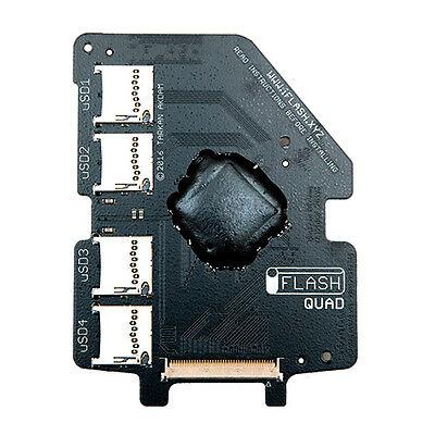 iFlash Quad MicroSD Adapter iPod 5G 6G 7G Video Classic Upto 4x Micro SD Cards