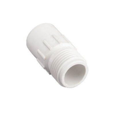 "2 Pack - Orbit 1/2"" Slip x 3/4"" MHT PVC Hose-to-Pipe Adapter"
