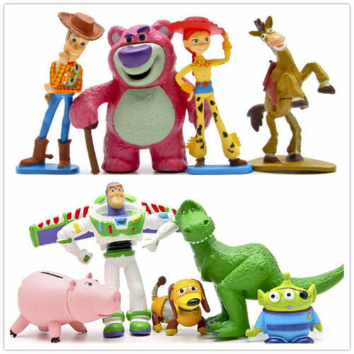Kids Gifts Disney Toy Story 3 Heroes 9pcs//Set Figurine Figures Cake Toppers Play