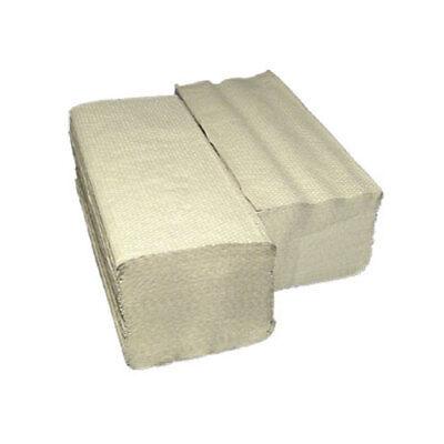 10000 Papierhandtücher Handtuchpapier 25x23cm, 1-lagig, ZZ-Falz, natur