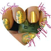 Gold Leaf Nail