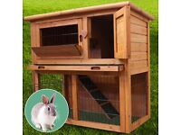 Small rabbit hutch or guinea pig 3ft.. almost new with bn cover