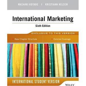 International marketing 6th edition fitt