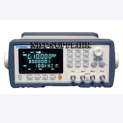 New At617 50hz-100khz Digital Capacitance Meter Tester C-d C-esr C-epr R-q
