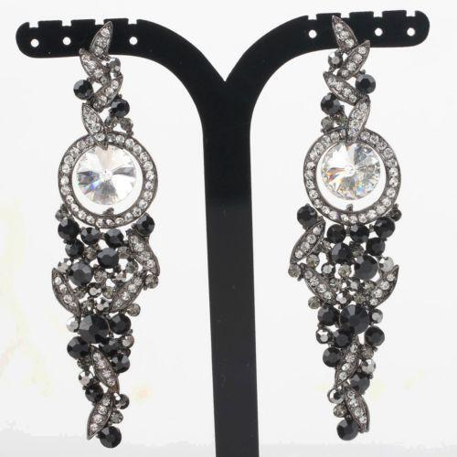 black prom jewelry ebay