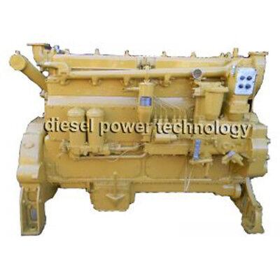 Caterpillar D342 Remanufactured Diesel Engine Long Block