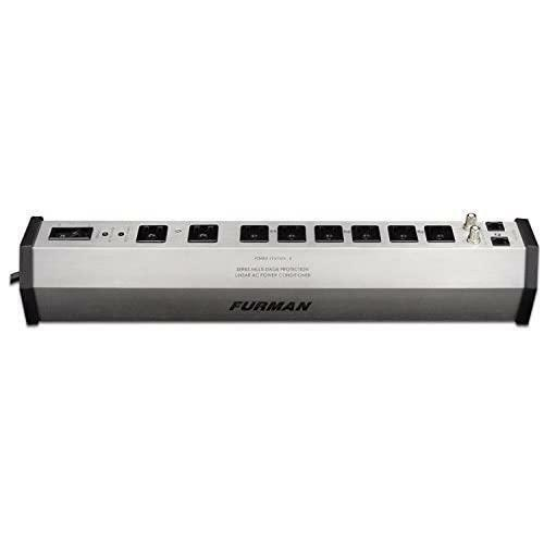 Furman PST-8 Advanced Linear Filtering Multi Stage Power Conditioner - Silver