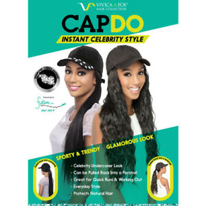 Vivica A Fox Instant Celebrity Style CAPDO-BLK