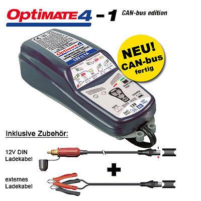 Batterieladegerät Tecmate OptiMate 4 CANbus 1A, 12V-Pflege für Batterien, SAE