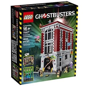 New & Sealed LEGO Ghostbusters Firehouse Headquarters 75827