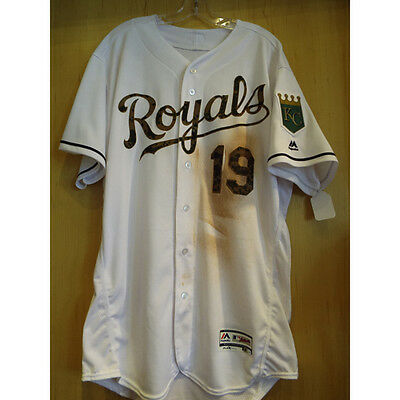 3258fc791a0508 KC Royals cheslor cuthbert game used memorial day jersey