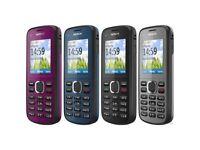 Nokia C1-02 Bluetooth Mobile