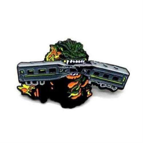 "Zobie Box - Limited Edition 2"" Enamel Lapel Pin - Godzilla - Original"