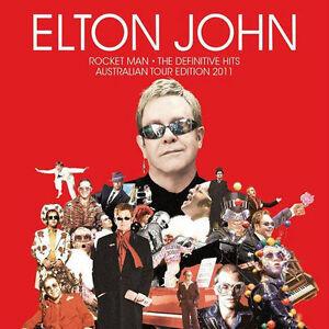 ELTON JOHN (THE DEFINITIVE HITS - GREATEST HITS - 2CD SET SEALED + FREE POST)