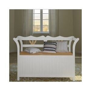 Hallway Storage Seat Monks Bench Unit Stool Chair Entryway Decor Wood Furniture