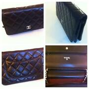 Chanel Black Quilted Handbags