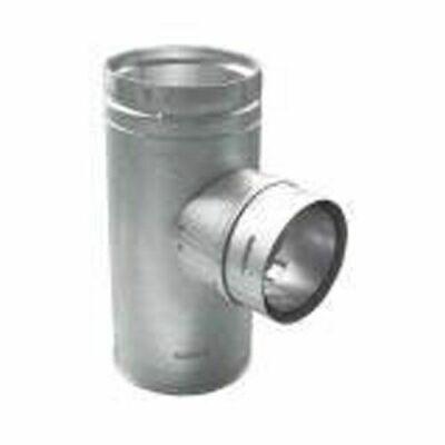 """DuraVent Pellet Vent Pro 4"""" Increaser Tee w/ Cleanout cap - 4PVP-T3"""