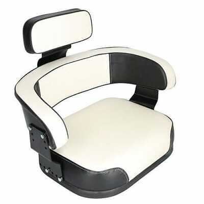 Seat Assembly Vinyl Blackwhite Compatible With International 966 1466 766 1066