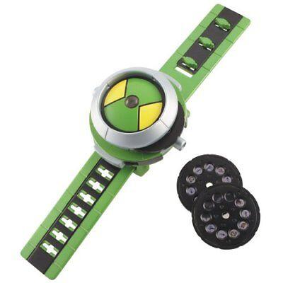 BEN 10 Ten Projector Watch Alien Force Omnitrix Illumintator Bracelet Kid Toys