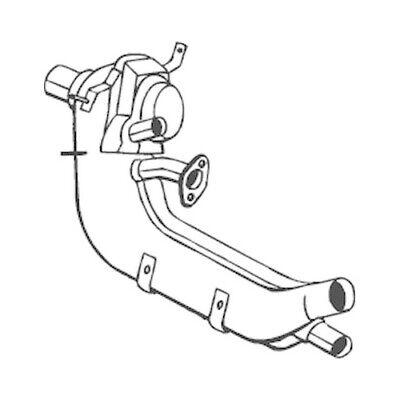 1 Vorschalldämpfer BOSAL 233-002 passend für VW