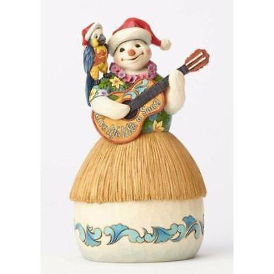 New Margaritaville by Jim Shore Tropical Snowman/Parrot/Guitar