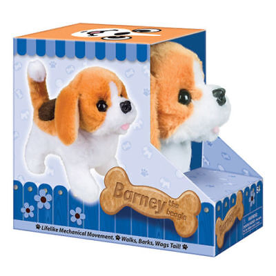 Battery Operated Beagle Dog Plush Stuffed Animal Walking Kids Toy Christmas Gift