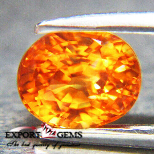Unheated 1.24CT Natural Spessartine Excellent True Fanta 100%