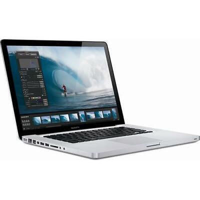 "Apple MacBook Pro 15.4"" Intel Core 2 Duo 2.8GHz 4GB 500GB in Silver MB986LL/A"
