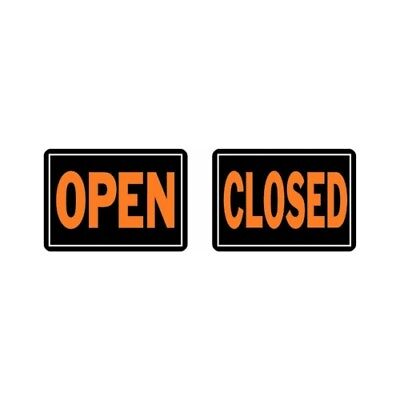 Hy-ko 820 10x14 Openclosed Sign