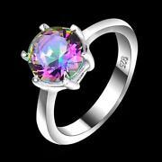 Vintage Mystic Topaz Ring