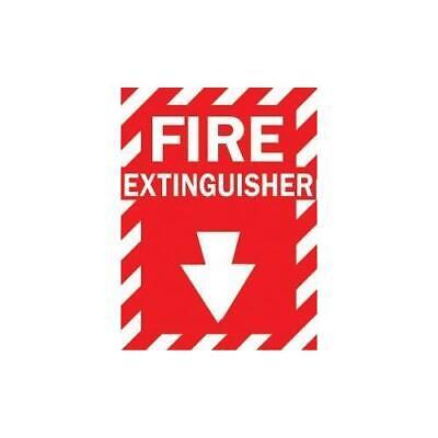 Brady 262-86091 Fire Extinguisher Sign -sticker