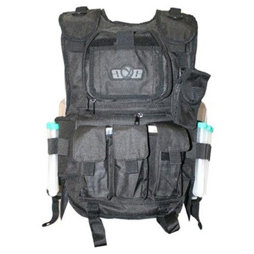 GXG Deluxe Tactical Vest - 4 + 2 + 1 - Black - OSFM