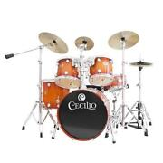 4 Piece Drum Set